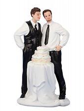 Männerhochzeit Hochzeitspaar Schwules Brautpaar Hochzeit Tortenfigur Deko Figur
