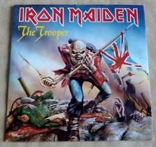 "IRON MAIDEN -THE TROOPER 7"" VINYL  UK  EMI 5397 PICTURE SLEEVE"