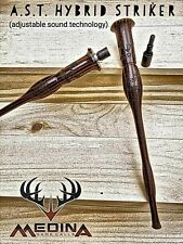 Medina Game Calls Ast Hybrid Striker Adjustable Sound Dymondwood Turkey Striker