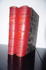 Technologie du batiment étude des matériaux Th CHATEAU 1880 2 volumes