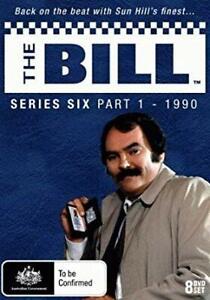 The Bill Series Six 6 Part 1 1990 8 disc Genuine New Sealed Australia