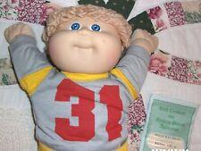 VINTAGE 1984 COLECO CABBAGE PATCH KID BOY MIB BIRTH CERTIFICATE UNUSED PRISTINE