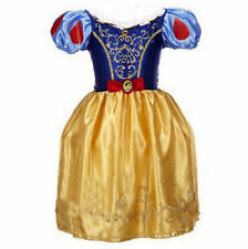 Cinderella Girl Dress Children Snow White Princess Rapunzel Halloween Costume