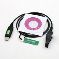 Cord USB Programming Cable Cat for Kenwood Radio TK-290 TK-390 +Software KPG-38D