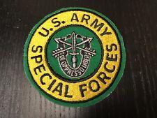 "NEW military patch, ""U.S. Army Special Forces"" unique insignia, original Veteran"