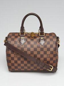 Louis Vuitton Speedy 25 Damier bandouliere, authentic, strap, bag, keys, boxes