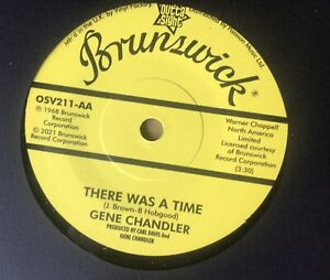 Demo - There Was A Time - Gene Chandler C/W Johnny Jones