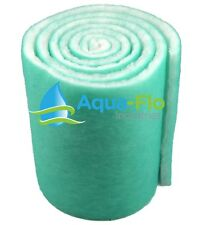 Premium Aquarium Pond Filter Floss 12 Inch Wide x 72 Inches long (6 sq FT)