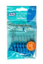 TePe Interdentalbürsten blau - 8 Stück -  Zahnzwischenraumbürsten  ISO3 0,6mm