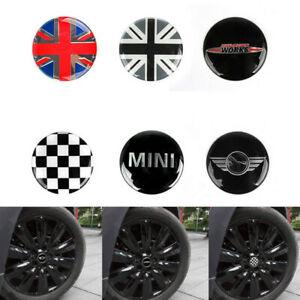 Car Wheel Center Hub Cap Cover Emblem Logo Sticker for BMW MINI Cooper ONE S JCW