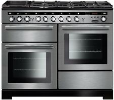RANGEMASTER Encore Deluxe EDL110DFFSSC Dual Fuel Range Cooker - Stainless Steel