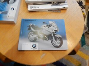 BMW GENUINE R1100S riders manual. New old stock. Perfect unstamped condition 06