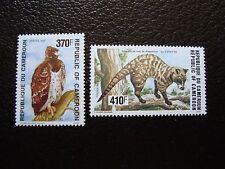 camerún - sello yvert y tellier Nº 867 868 N (cam1) stamp Camerún