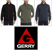 Gerry Men's Full Zip Up Static Sweater Jacket Slate Nocturne Mosstone Zipper NWT