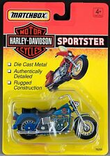 Matchbox Harley-Davidson Motorcycles 4.5 Inch Sportster 1993 Mint On Card