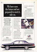 1993 Buick Roadmaster - Sedan - Classic Vintage Advertisement Ad D05
