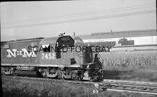 ORIGINAL PHOTO NEGATIVE-Railroad NDeM Mexico #7452