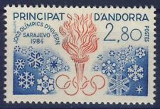TIMBRE ANDORRE NEUF** N° 327 JEUX OLYMPIQUES SARAJEVO