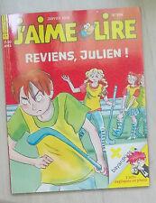 j'aime lire n° 396 Reviens julien !