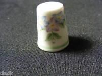 Royal Worcester Porcelain Collectors Thimble