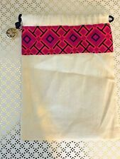 "BN TORY BURCH  Duster Bag 8.5"" *6.5"" small size PINK /PURPLE/BLUE"