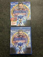Sonic the Hedgehog (Blu-ray, 2020) + Digital Movie + Slipcover