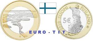 5  EURO  FINLANDE COMMEMORATIVE  SERIE   PAYSAGE  N° 3  /    2018     disponible