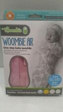 Woombie 14-19 lbs 3-6 month Swaddle WOOMBIE AIR Pink Posey Big Baby NEW