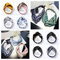 Fashion Women Turban Twist Knot Head Wrap Headband Twisted Knotted Hair Band 1X