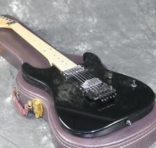 Reverse Headstock  Electric Guitar Black Color Floyd Rose Bridge Black Hardware