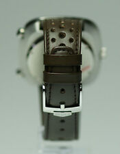 Smoke vintage Heuer Silverstone chronograph 22mm band with Heuer buckle 6 sold
