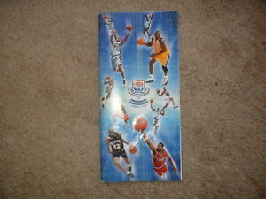 1999 NBA Basketball Draft Media Guide Basketball