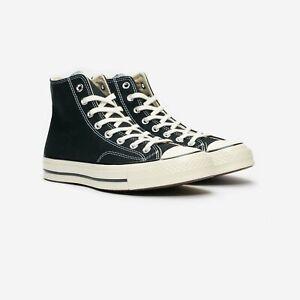 Converse Unisex Chuck 70 Classic High Top Shoes Black/Egret 162050C f