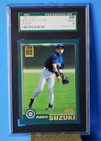 2001 TOPP'S #726 ICHIRO SUZUKI  GRADED  SGC  88 NM/MT 8