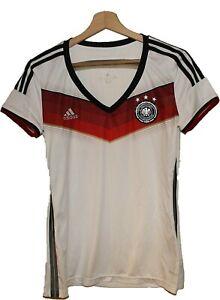 2014 GERMANY Football SHIRT Jersey ADIDAS size M Women Tricot Maglia Camiseta
