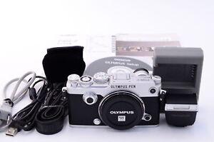 [Near Mint] Olympus PEN-F Digital Camera Body Silver (t073)