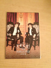 TVXQ DBSK Tohoshinki JYJ Bigeast SM Entertaiment offical Catch Me tour postcards