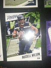 2018 Prestige #191 Russell Wilson and 36 other Seahawks
