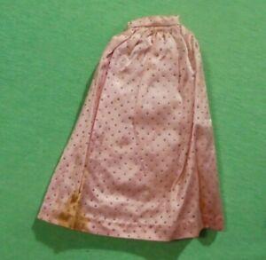 Vintage Barbie Sparkling Pink Pak - Satin  Evening Skirt