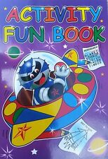 Superb Quality Children ACTIVITY BOOK,see photos for some activities Educational