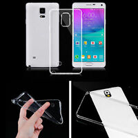 Fashion Slim Soft TPU Clear Back Case Cover For Samsung Galaxy Note 4 S5 i9600
