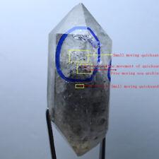98.4g BIG NATURAL  free mobile quicksand and  sea urchin Crystal +rainbow F539