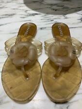 4f375f2f1 CHANEL Women s Rubber Sandals and Flip Flops for sale