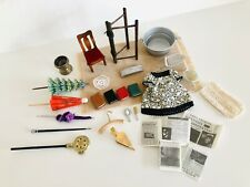 MIXED LOT OF 1:12 DOLLS HOUSE ACCESSORIES