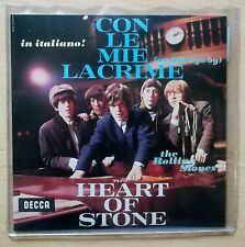 "The Rolling Stones – Con Le Mie Lacrime 45 giri 7"" 2016 Limited Edition Nuovo"