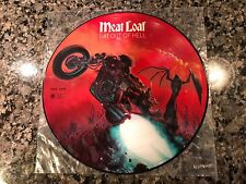 Meatloaf Picture Disc! Limited. Alice Cooper Def Leppard Kiss Aerosmith