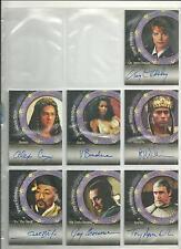 Stargate SG-1 Premiere Season 1-3 A8 Jay Acovone Charles Kawalsky Autograph Card