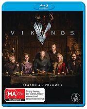 Vikings : Season 4 : Part 1 (Blu-ray, 2016, 3-Disc Set)