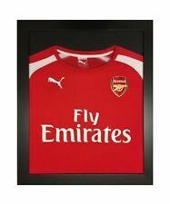 More details for frame for shirt signed display diy black frame football tshirt