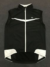 Pearl Izumi Elite Barrier Cycling Wind Vest Gilet / Mens Medium M Black & White